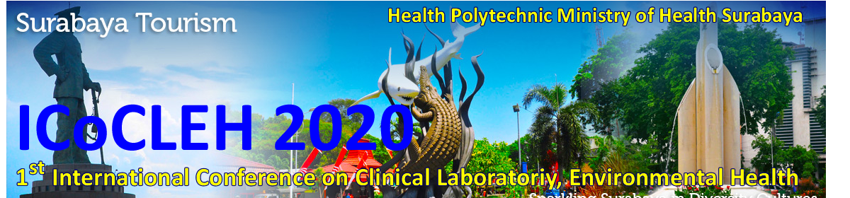 International Conference on Clinical Laboratory and Environmental Health (ICoCLEH) 2020